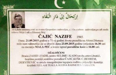 Nazifa Cajic
