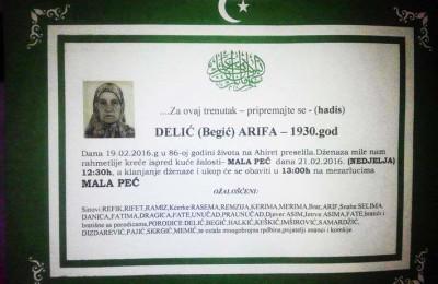 Delic Arifa