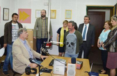 Goran Milic u Radio Bihacu