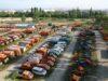Verkauf gebrauchter Fahrzeuge und Geräte